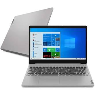 "Notebook - Lenovo 82bs0006br I3-10110u 2.10ghz 4gb 256gb Ssd Intel Hd Graphics Windows 10 Home Ideapad 3i 15,6"" Polegadas"