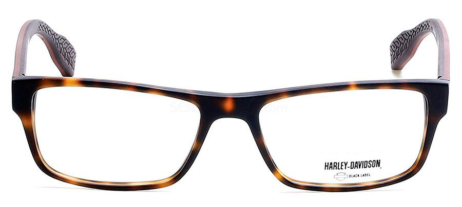 ÓCULOS DE GRAU HARLEY DAVIDSON HD 1038  57 - TARTARUGA/MARROM