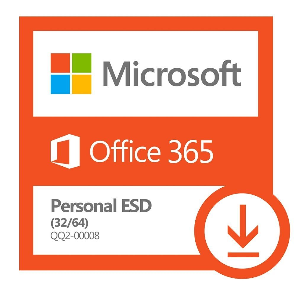 Office 365 Personal 32/64 Bits Microsoft QQ2-00008 (ESD - Download - 1 Dispositivo)