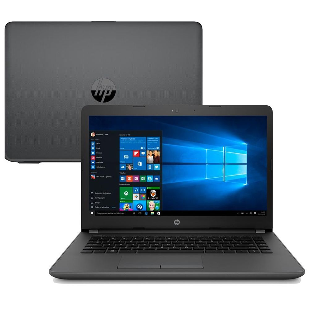 Notebook Intel Core i3 7020U 4GB 500GB 14