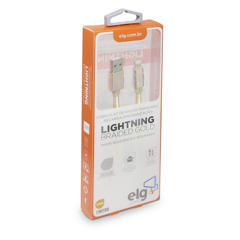 Cabo Lightning ELG L810BG (Gold Nylon - 1 mt)