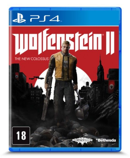 Game Playstation 4 Wolfenstein II: The New Colossus 3002813-AC (PS4)