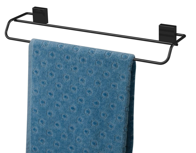 Toalheiro Duplo 45cm  - Preto