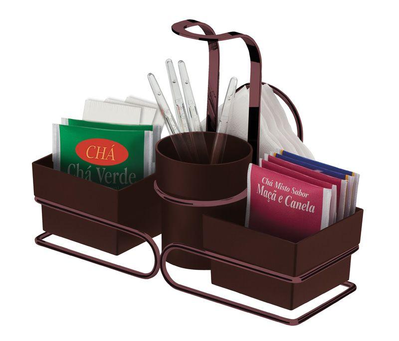 Conjunto para Chá/Café - Bronze