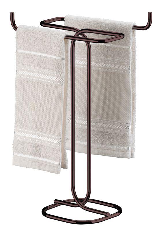 Porta Toalha de Bancada - Bronze