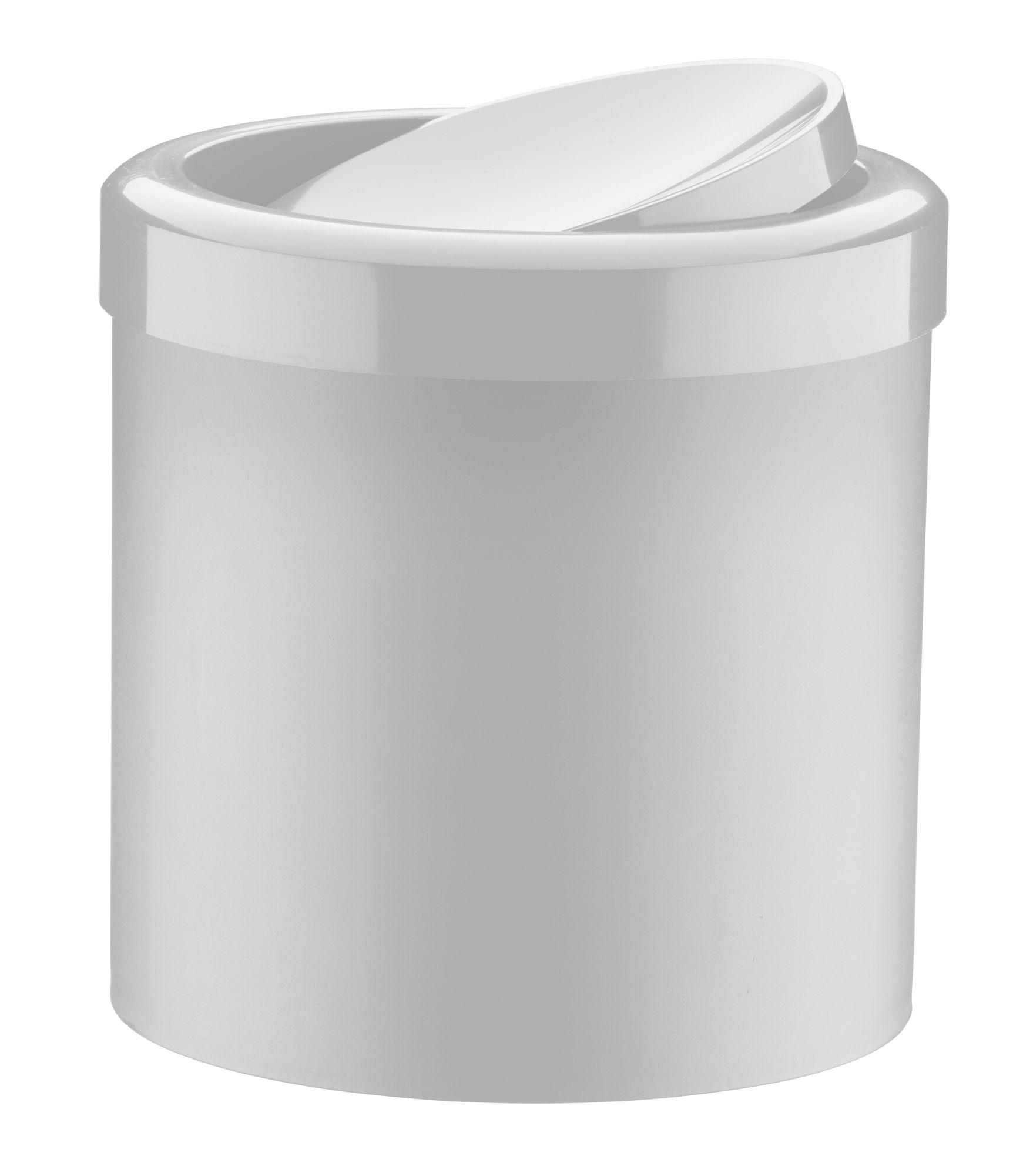 Lixeira Basculante 5 litros Branca