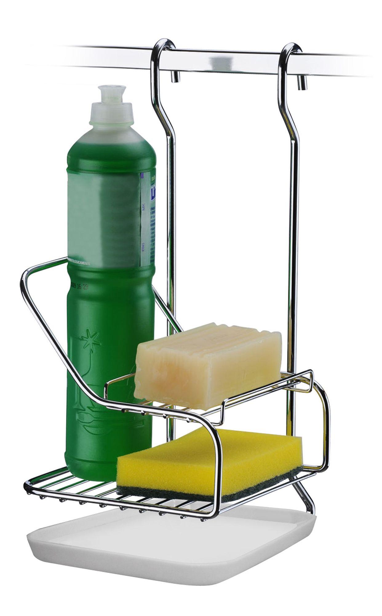 Suporte para Sabão/ Detergente/ Esponja