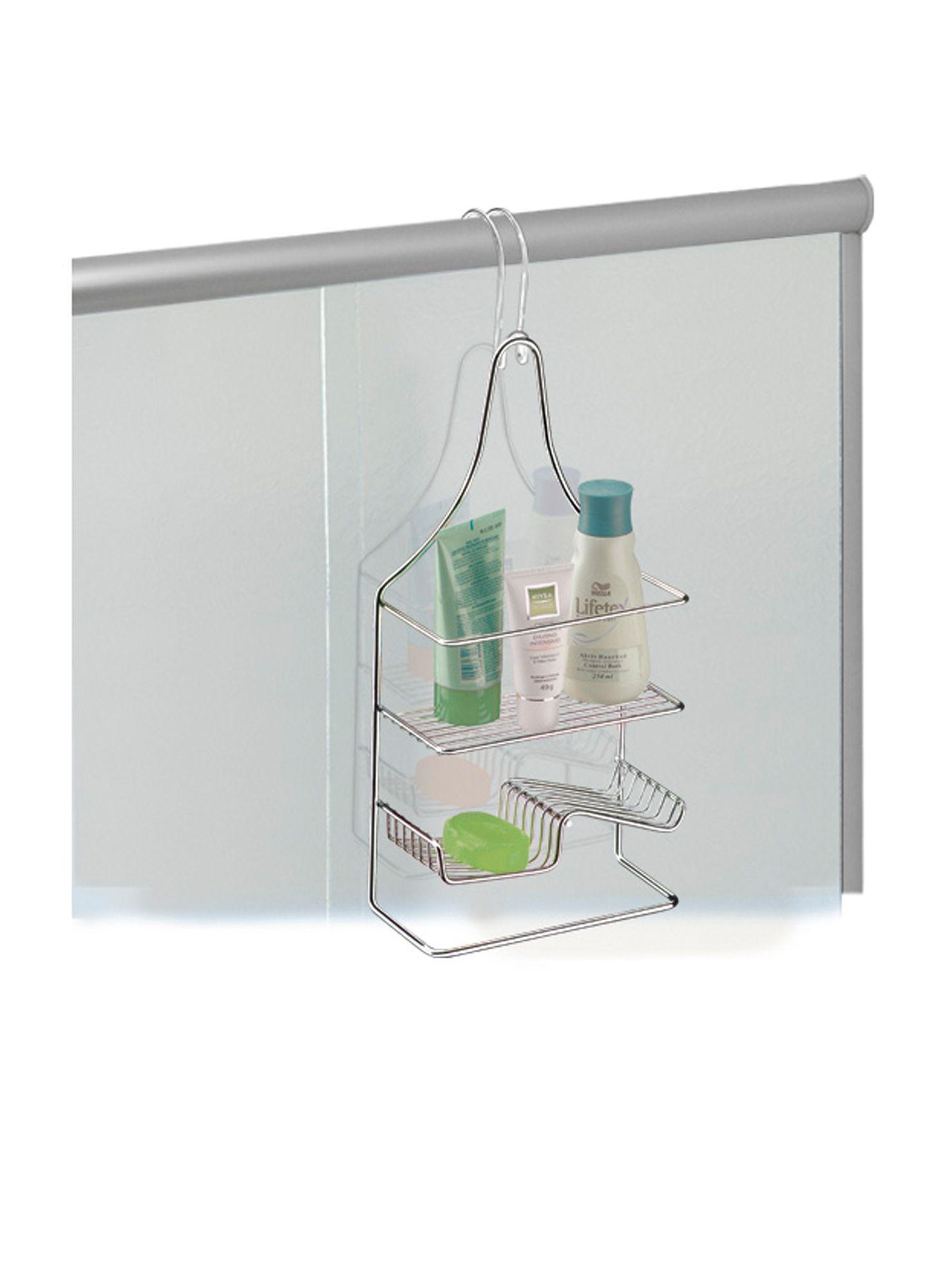 Suporte para Shampoo/Sabonete de Bancada/Box/Registro