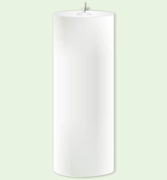 Vela de Altar Donzela (V-10)