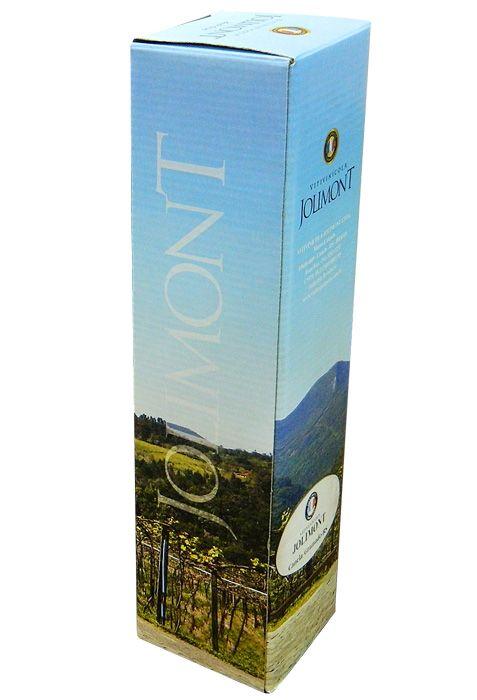 Caixa unitária para vinho ou espumante