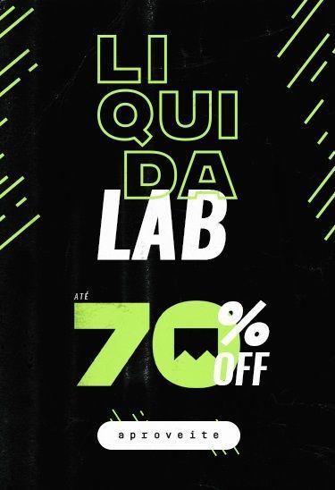 LiquidaLAB - Até 70% OFF