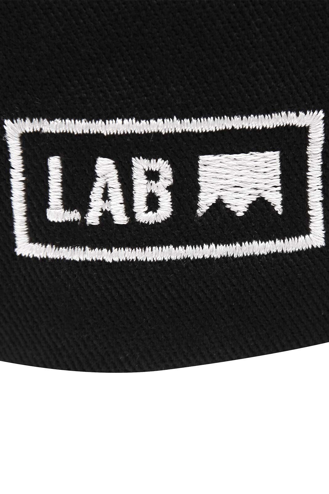 Boné Aba Curva Lab Estrela Preto