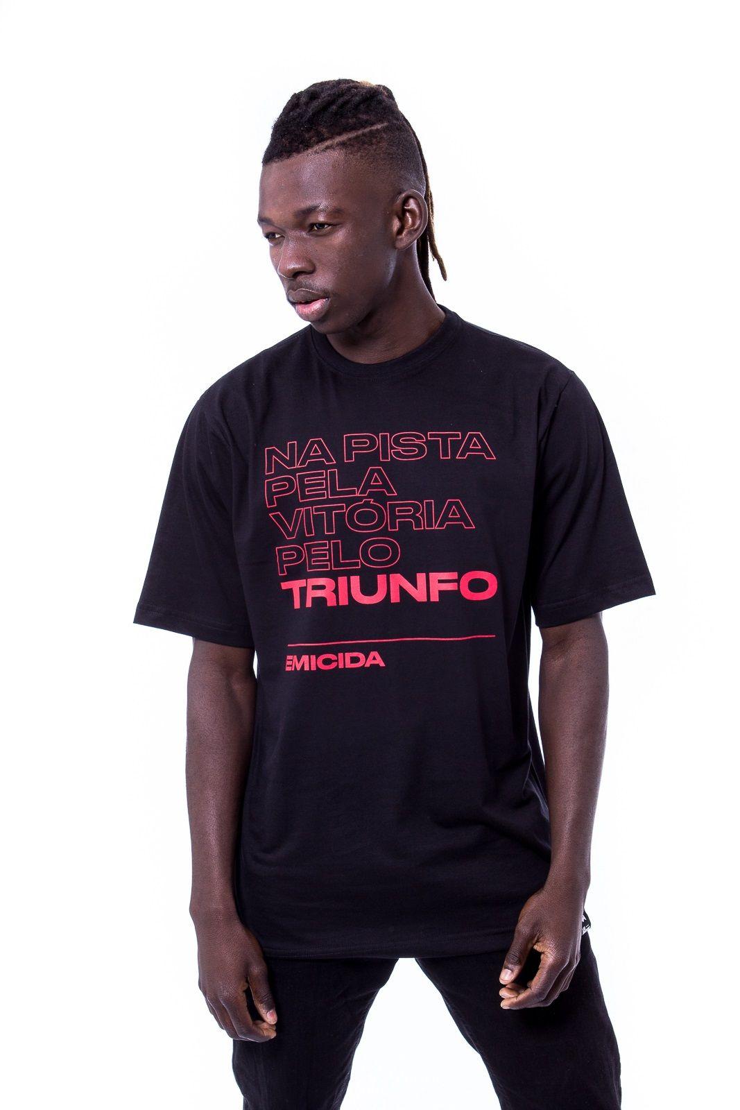 Camiseta Básica Triunfo Preta