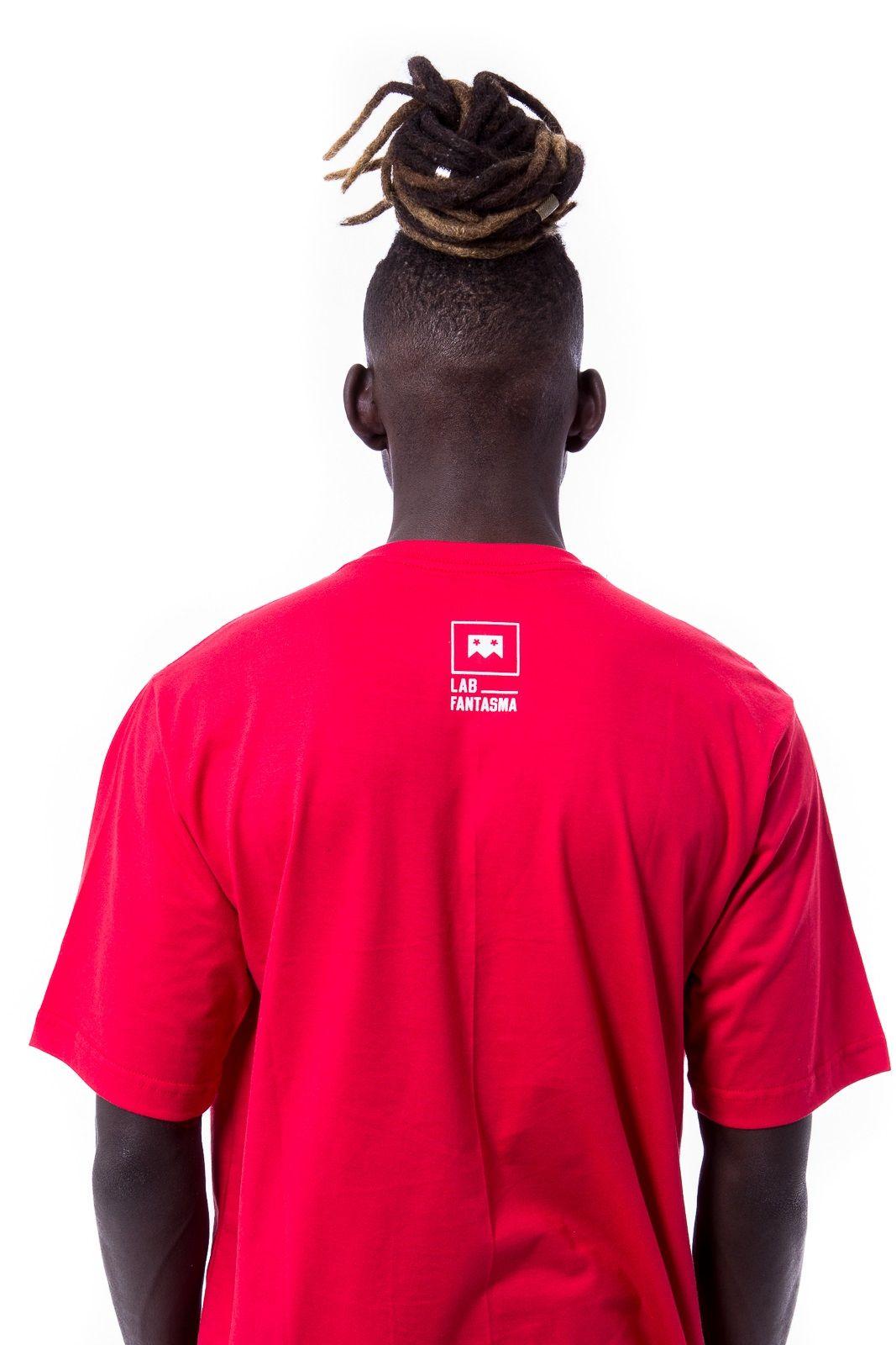 Camiseta Básica Logo Lab Vermelha