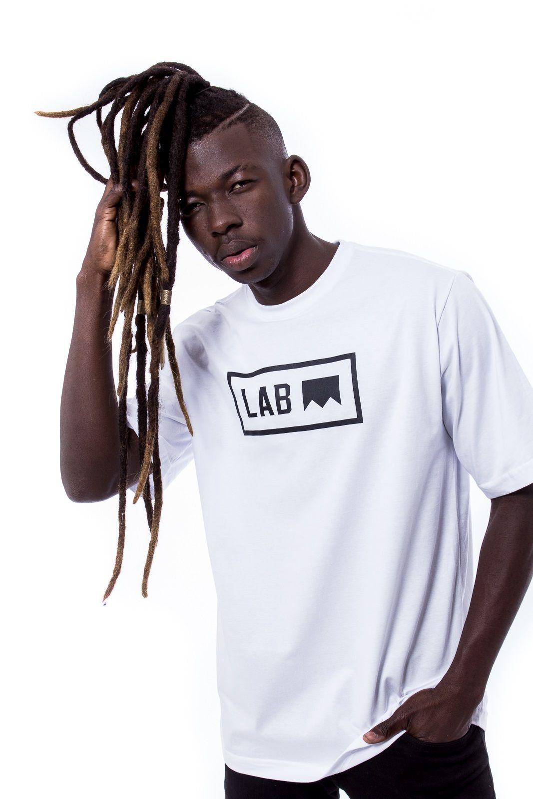Camiseta básica Logo Lab Branca