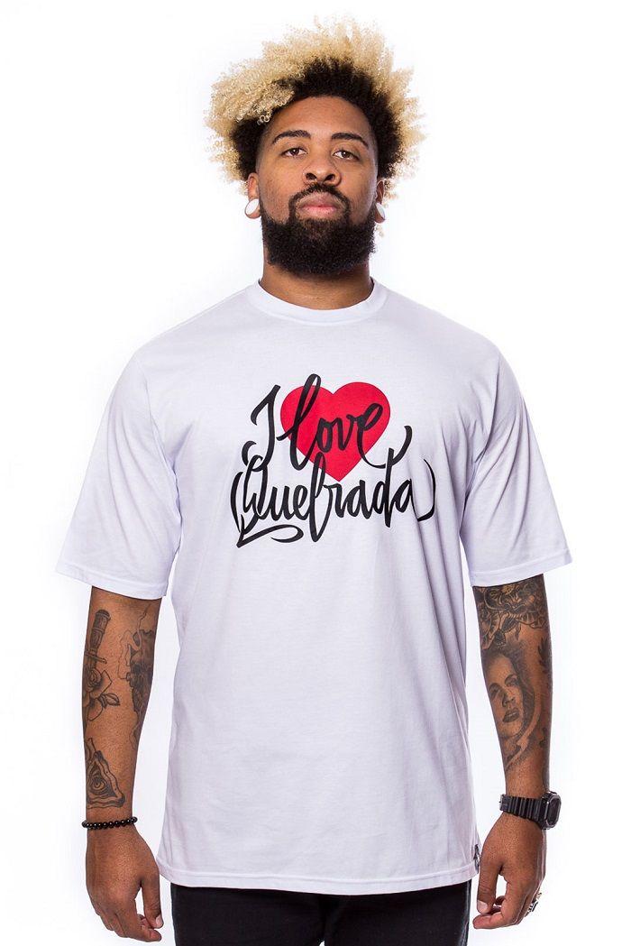 Camiseta Básica Tag I love quebrada Branca