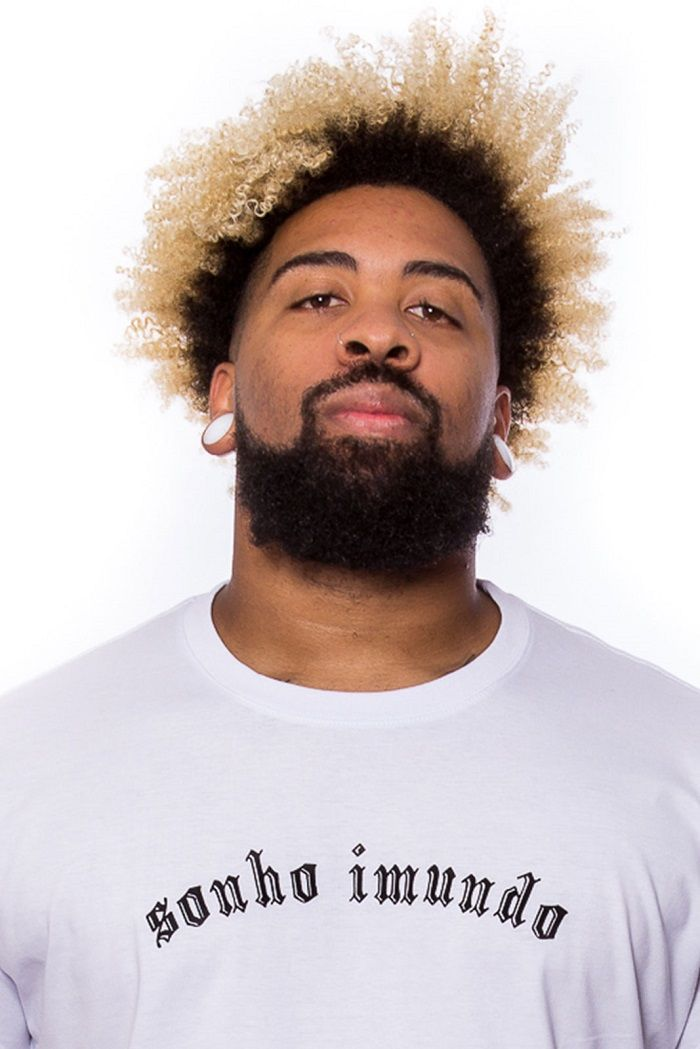 Camiseta barra arredondada Sonho Imundo
