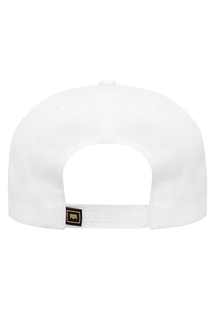 Boné Snapback Lab 09 branco (Edição comemorativa)
