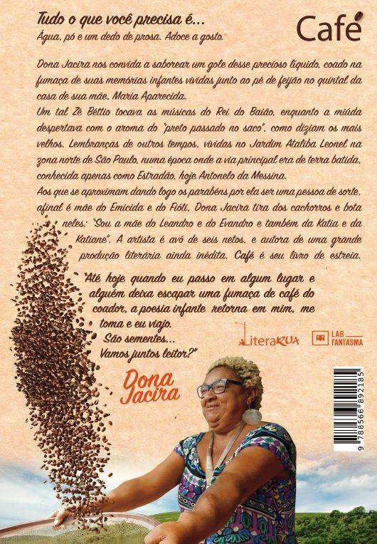 Livro Dona Jacira - Café
