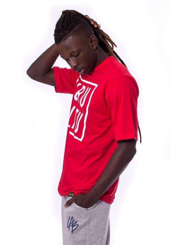 Camiseta Básica Ubuntu Vermelha