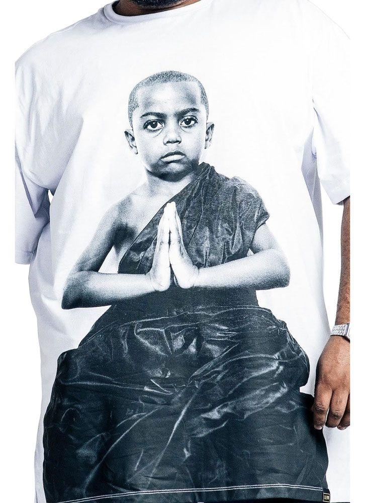 Camiseta Oversized Buda Plus Size