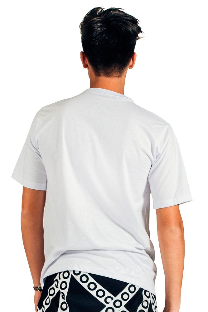 Camiseta Básica Ubuntu Branca