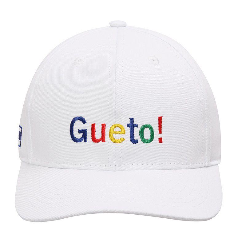 BONÉ ABA CURVA GUETO BRANCO