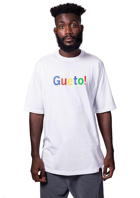 Camiseta Básica Gueto Branca