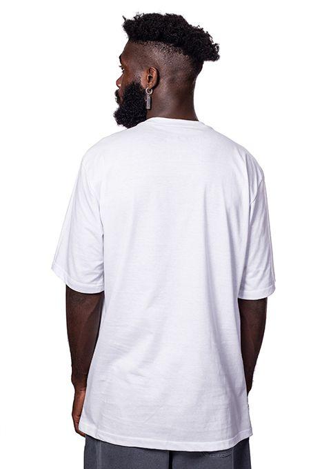 Camiseta básica Emicidinha Branca