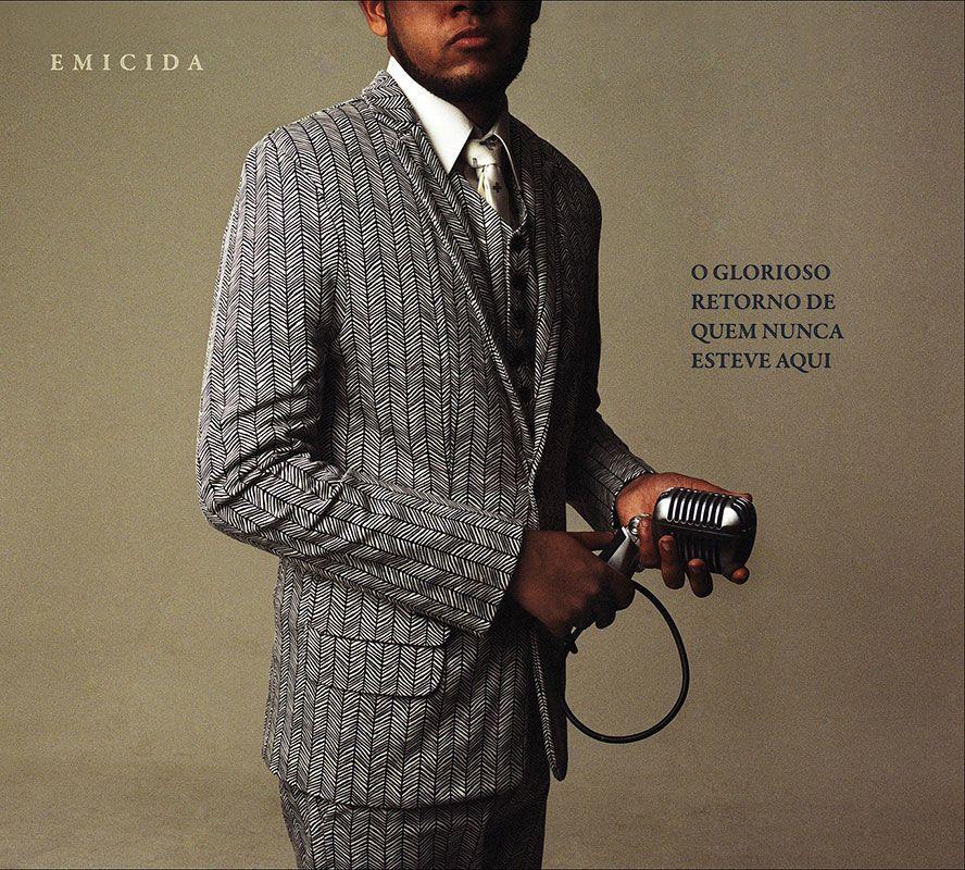 CD EMICIDA - O GLORIOSO RETORNO DE QUEM NUNCA ESTEVE AQUI