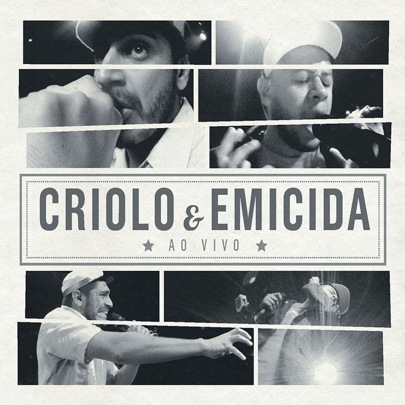 CD CRIOLO E EMICIDA - AO VIVO