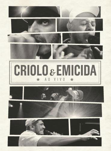 DVD CRIOLO E EMICIDA - AO VIVO