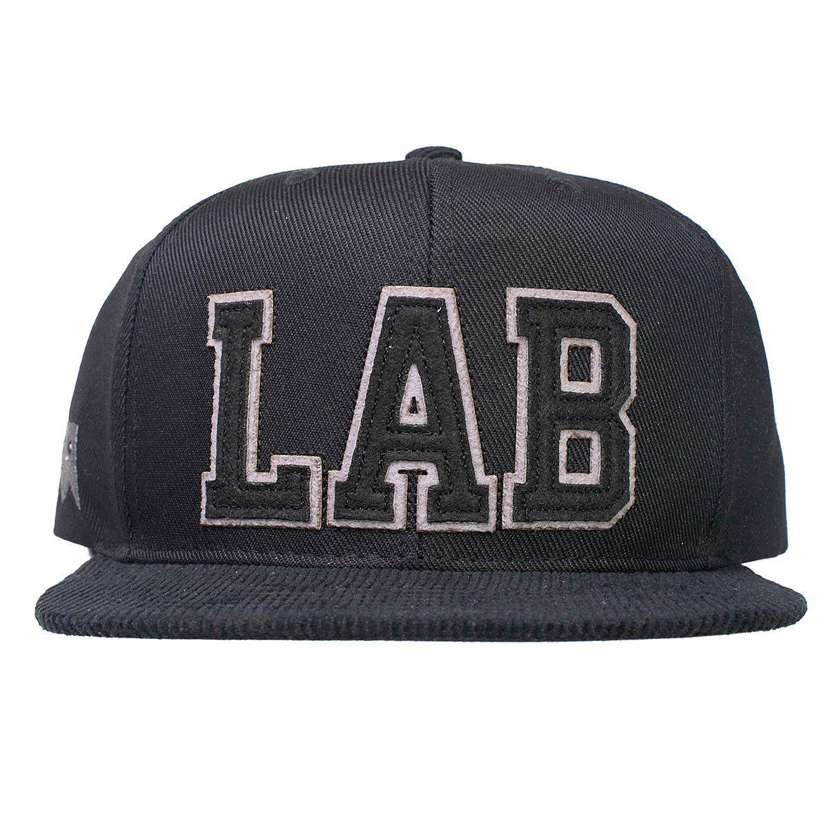 Boné Snapback Lab Preto