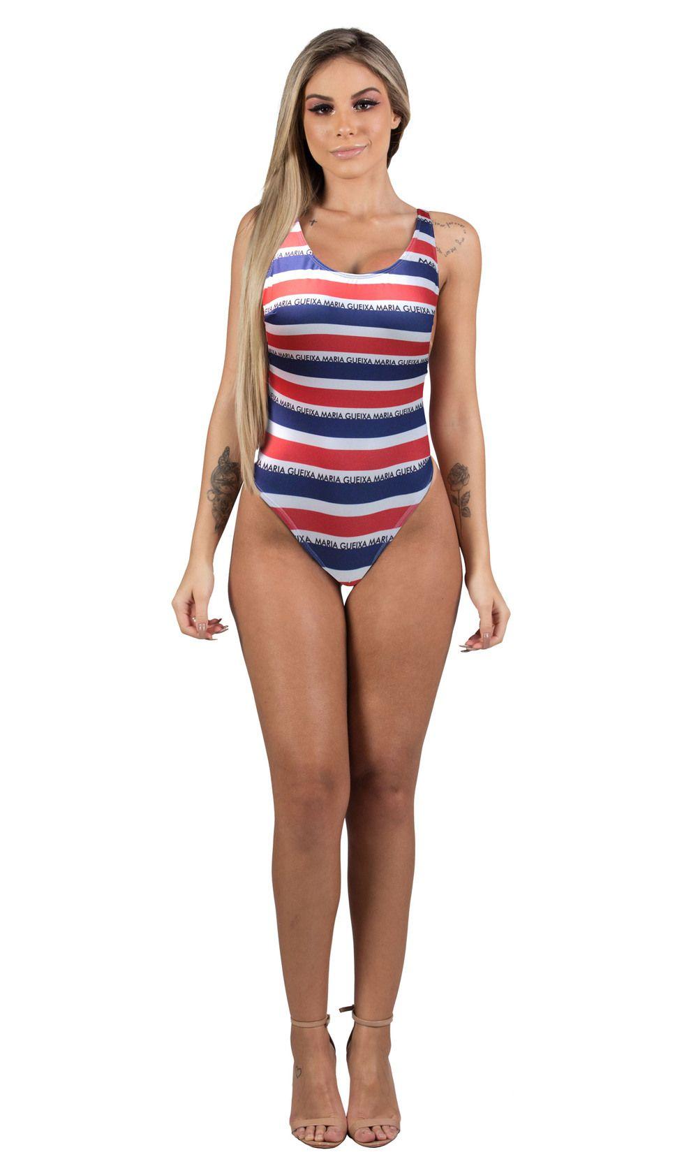 Maria Gueixa Beach Street One - Piece Swimsuit Nautica