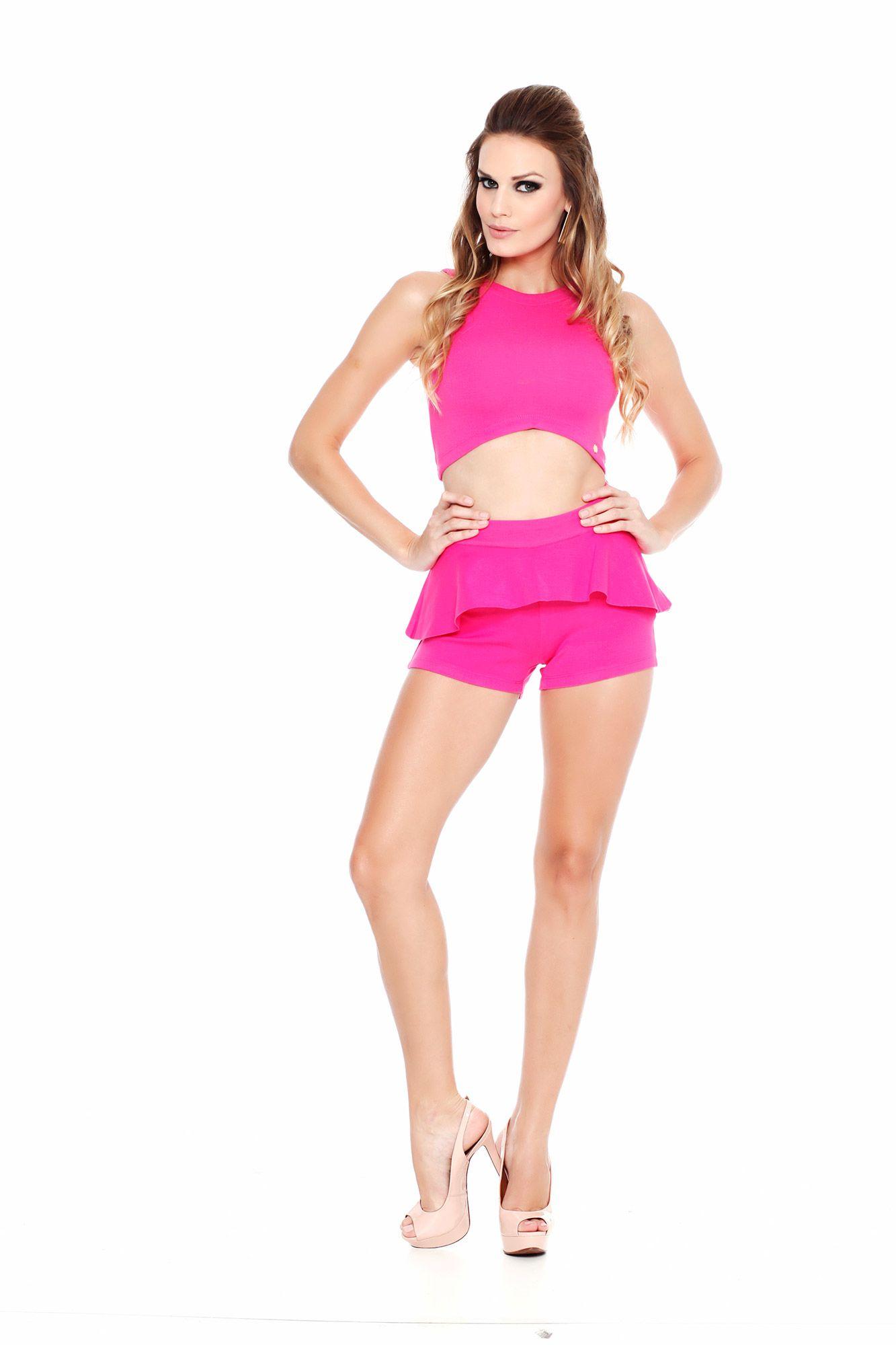 Blusa Top Gueixete Pink