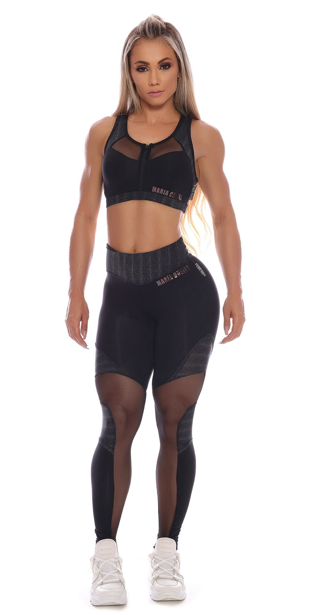 Legging Perfect Physical Maria Gueixa Preto