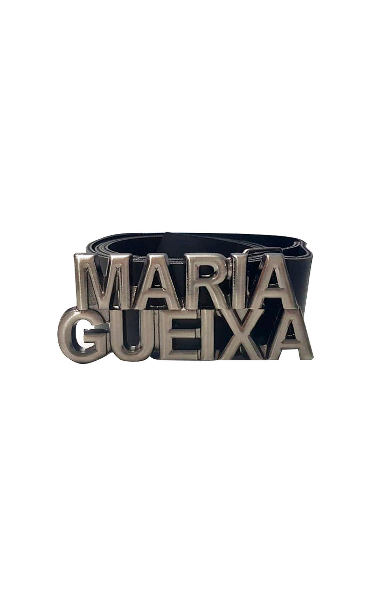 Cinto Couro Fosco Maria Gueixa Preto