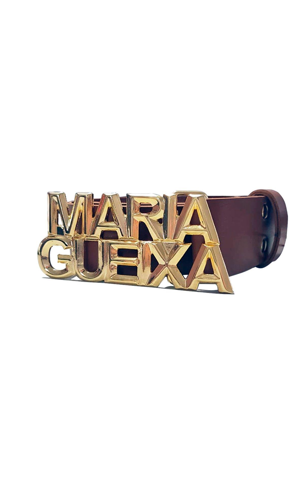 Cinto Couro Fosco Maria Gueixa Marrom