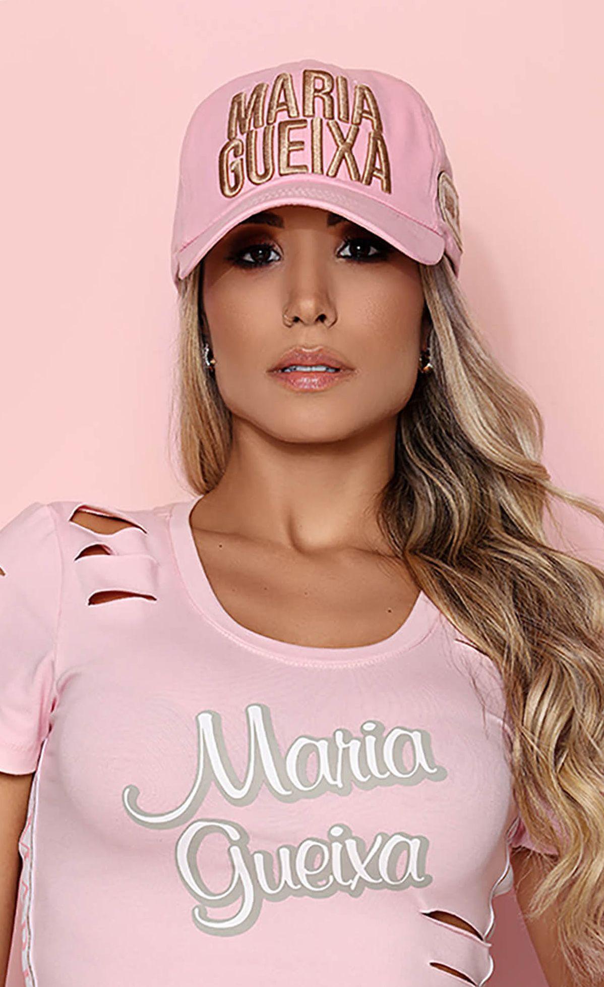 Boné Aba Flex Maria Gueixa Rosa