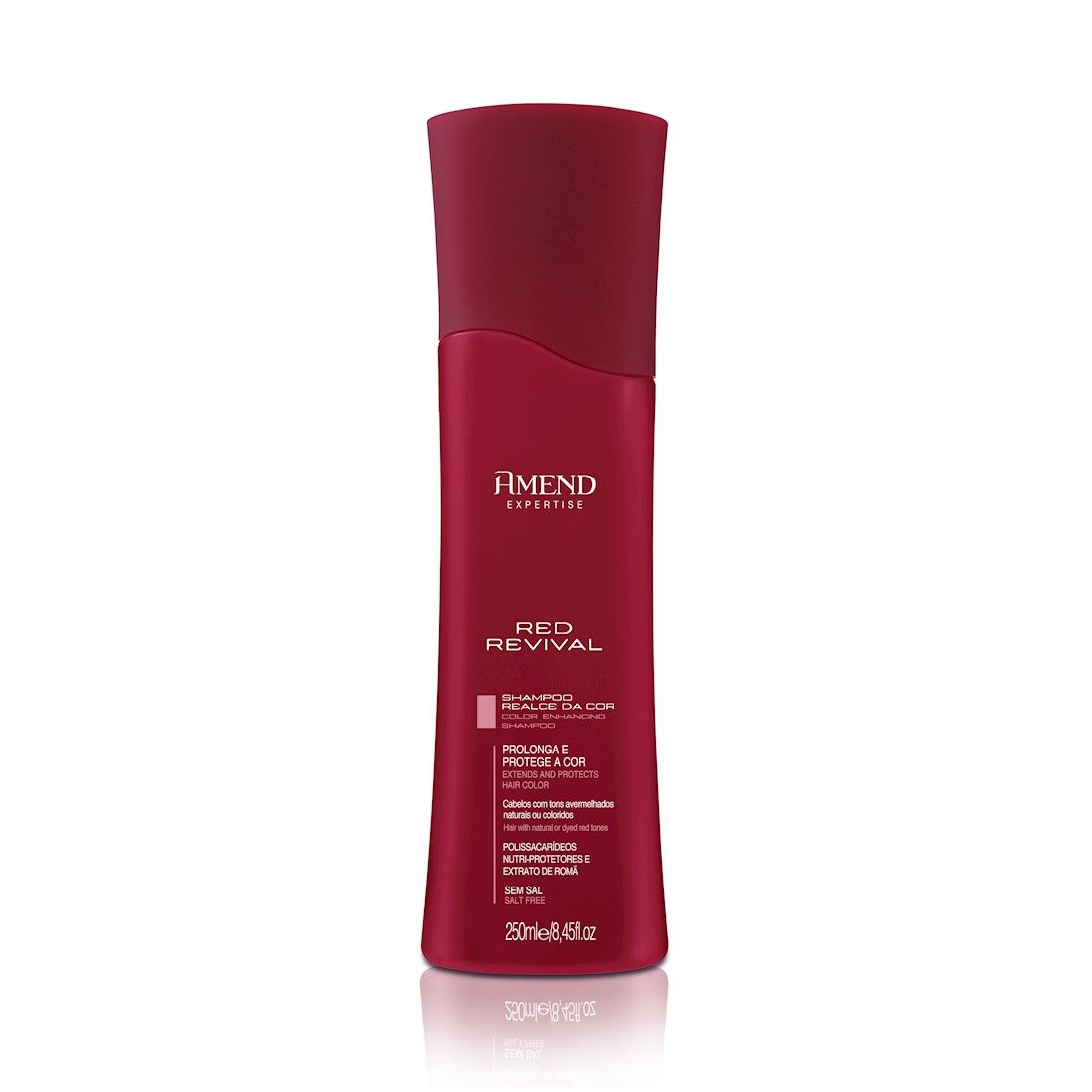 Amend Red Revival Shampoo Realce Da Cor 250ml