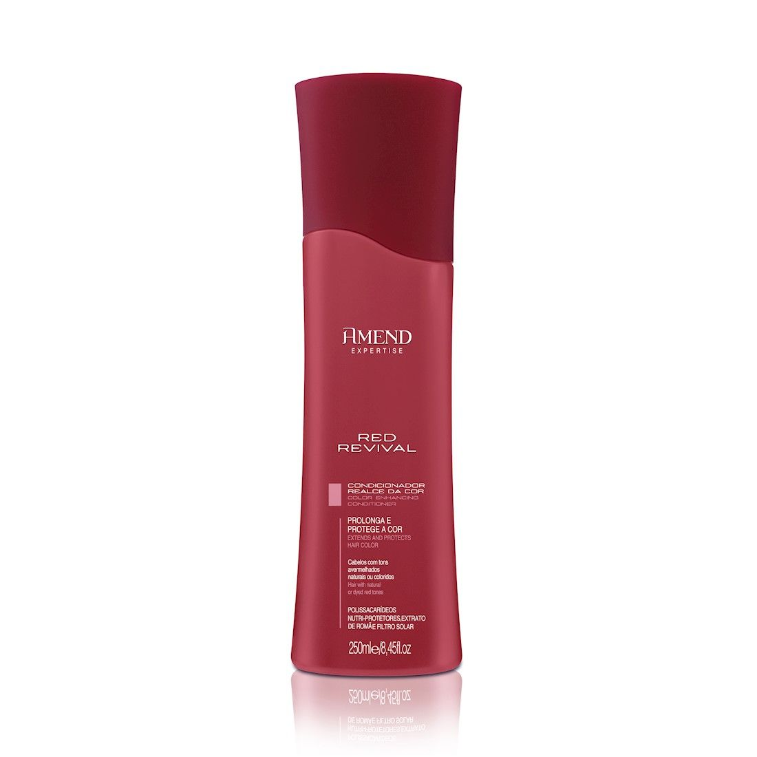 Amend Red Revival Condicionador Realce Da Cor 250ml