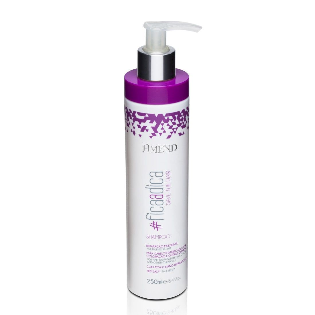 Amend #Ficaadica Save The Hair Shampoo 250ml