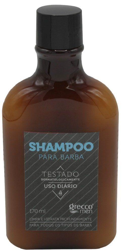 Grecco Men Shampoo para Barba 170ml
