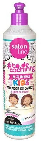 Salon Line To de Cachinho Kids Ativador de Cachos 300ml