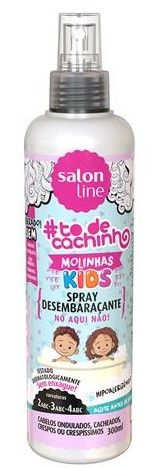 Salon Line To de Cachinho Kids Spray Desembaraçante 300ml