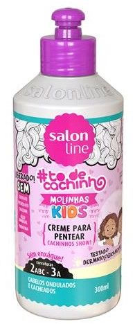 Salon Line To de Cachinho Kids Creme para Pentear 300ml