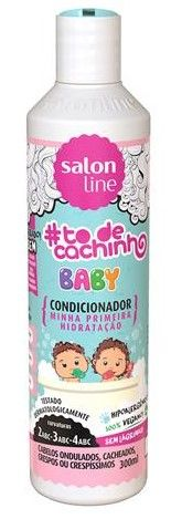 Salon Line To de Cachinho Baby Condicionador 300ml