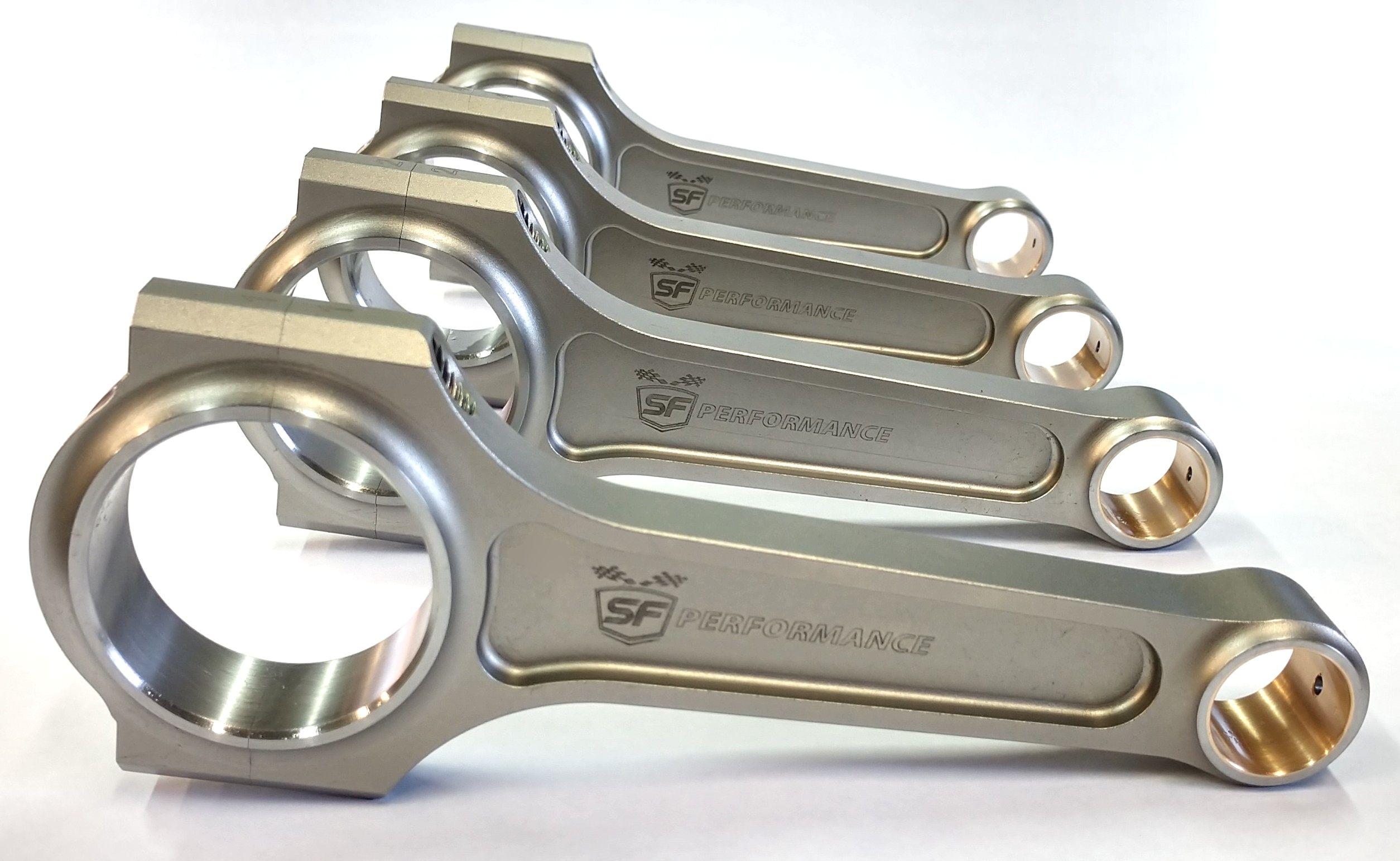 Conjunto de Biela forjada para Motor VW AP 159mm Perfil I 1.200CV pino Ø20mm