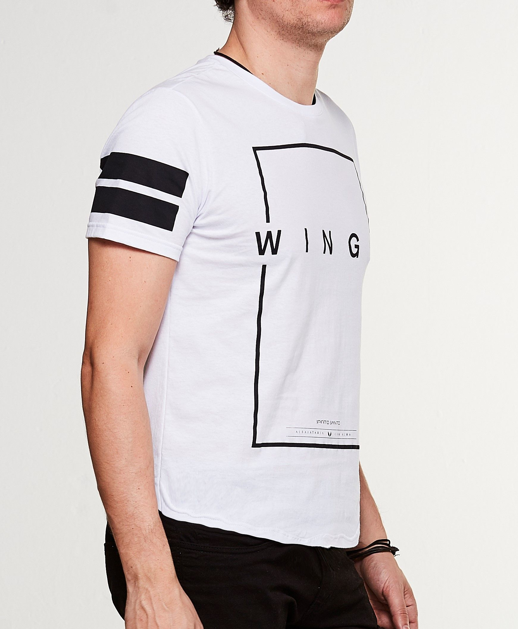 CAMISETA WINGS Branco SPIRITO SANTO
