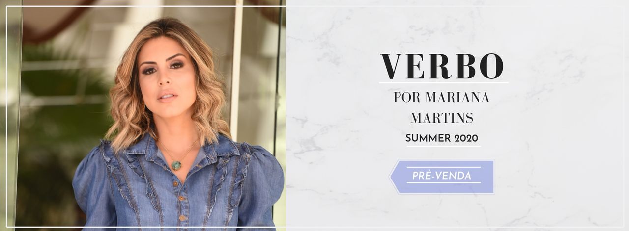 Verbo por Mariana Martins - Summer 20